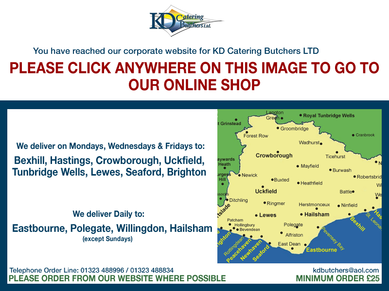 Please click on the image to go to our online store - http://kdbutchers.co.uk
